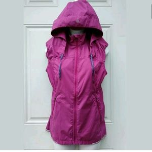 Ω  Lululemon Future Pink Vest Hoody Size 8